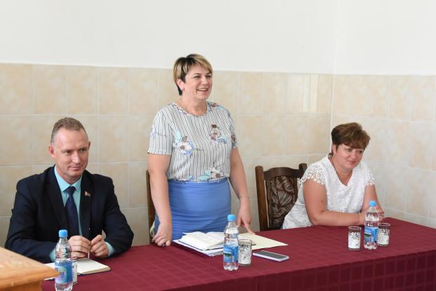 Жанна Чернявская встретилась с трудовыми коллективами Брагинщины