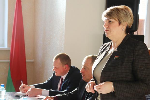 Делегат VI ВНС Жанна Чернявская встретилась с коллективом заповедника