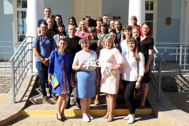Депутат Жанна Чернявская приняла участие в открытом диалоге «Беларусь: вчера, сегодня, завтра», который прошёл в Хойниках