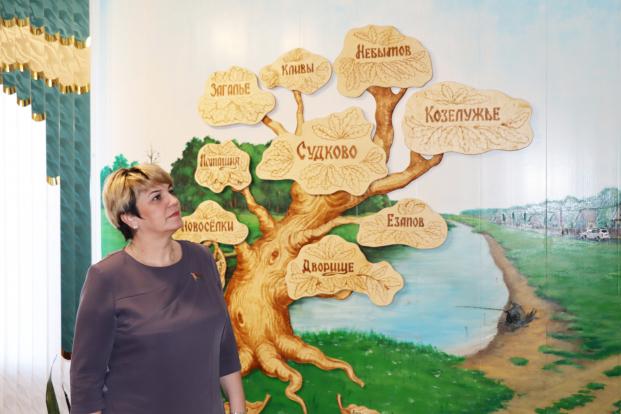 С рабочим визитом в Судковском сельсовете побывала депутат Жанна Чернявская