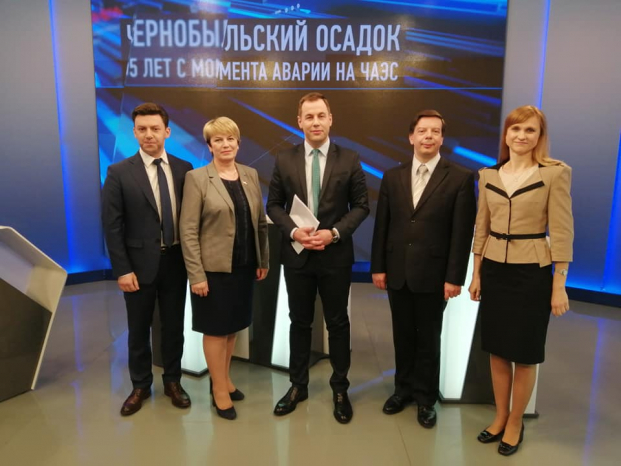 Депутат Жанна Чернявская выступила в качестве эксперта в информационно-аналитическом ток-шоу «Точка зрения»