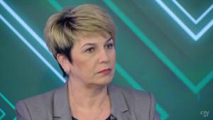 В программе «Постскриптум» на СТВ депутат Палаты представителей Национального собрания Беларуси Жанна Чернявская